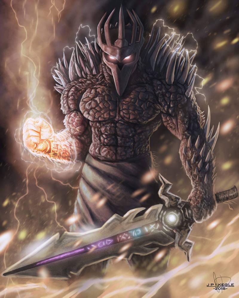 The Demon Knight by JPKegle