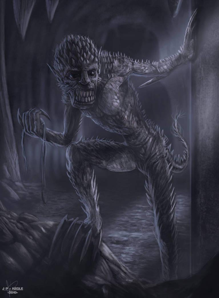 Ugly underground thief by JPKegle