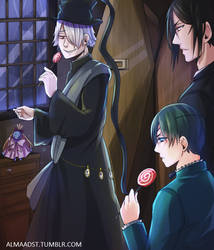 Black Butler / Pandora Hearts by almaadst