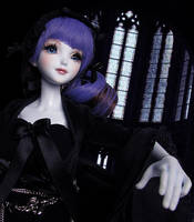 Darkness and a church, RML BJD by RMLBJD