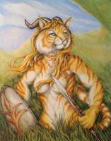 Ashkeera  -  gift art by teiirka