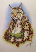 Lady lynx (temporary name) by teiirka