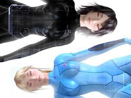 Zero Suits by montyoum