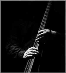 The bass player by onabibano