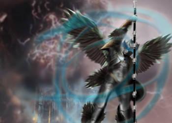 RUWACH Wind God by Xaphrious