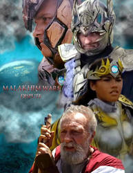 Malakhim Wars Poster by Xaphrious
