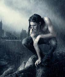 Heaven's a lie by lady-amarillis