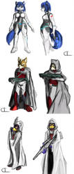 PK Character Prologue Concepts by UndyingNephalim