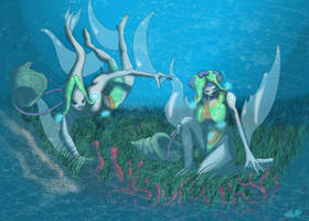 Study - Zora Harvesters by UndyingNephalim