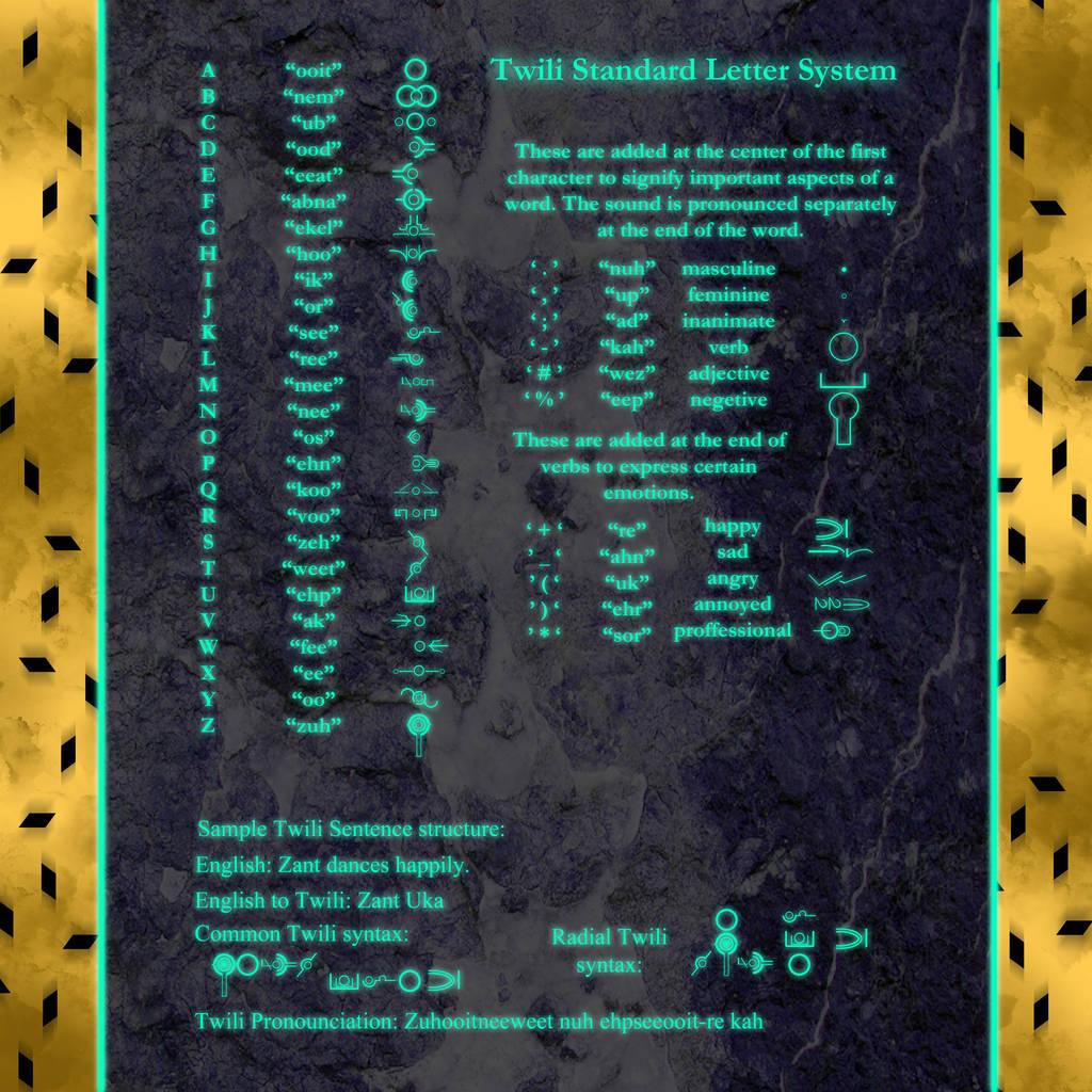 Realm of Twili Font by UndyingNephalim