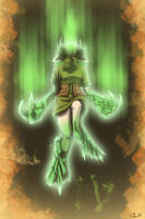 Study - Saria's Transformation by UndyingNephalim