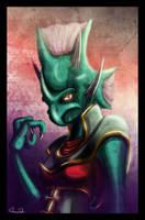 Portrait - Kydora by UndyingNephalim
