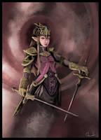 Princess Zelda III by UndyingNephalim
