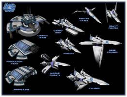 Cornerian Army - 3D Model Dump by UndyingNephalim