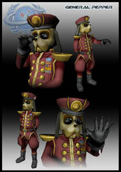 General Pepper Here by UndyingNephalim