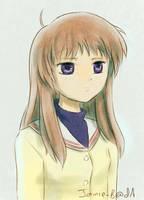 Yukine Miyazawa (Clannad) by Jamie-B