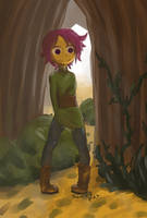 Autumnal girl by Jamie-B
