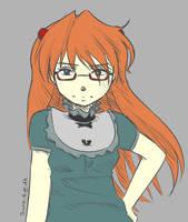 Maid Asuka by Jamie-B