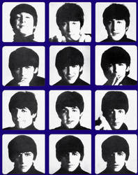 The Beatles by DanielsGirl1991