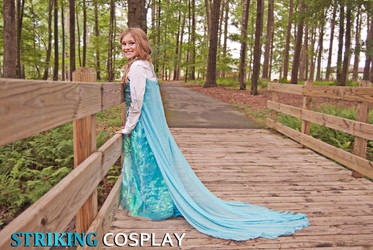 Elsa from Disney's Frozen - Photoshoot 1 by StrikingCosplay