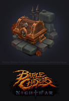 Battle chasers fan art by AntonioNeves