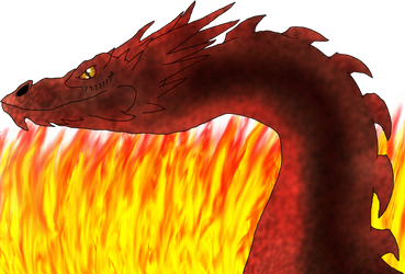 Smaug the Stupendous by DragonessBlue