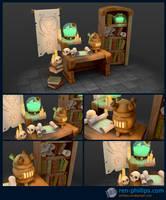 Alchemist Table by Uber-ren
