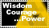 wisdom courage and power by Girl-just-let-go-200