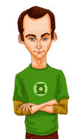 Dr. Sheldon Cooper by normandapito
