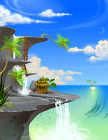 Island Paradise by nk-chan