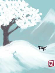 Winter card by ShioriDemon