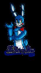 FNAF2: Toy Bonnie by anime-luver-vixen