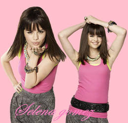 Selena Blend (: by PilySerrano