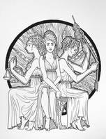 Three Fates by KatreShka