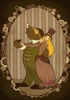 Steampunk Thumberlina by KatreShka
