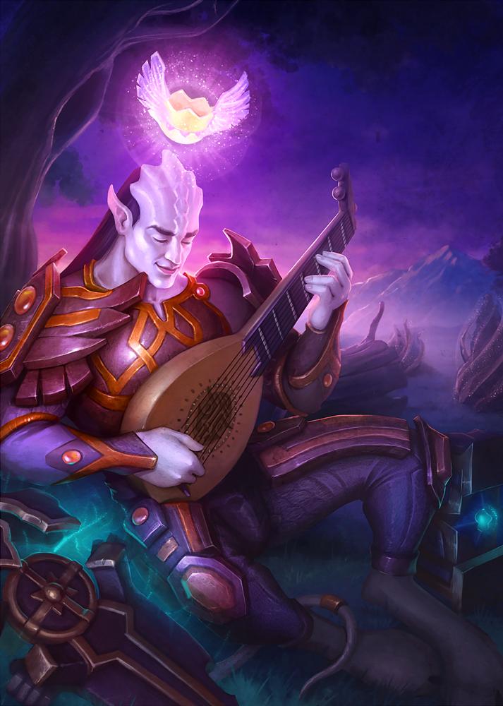 Fanart to Warcraft by KatreShka