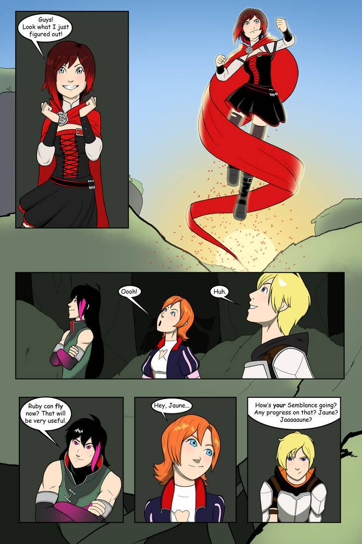 Ruby Flies! by Cadhla182