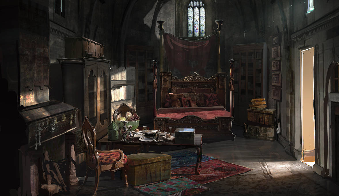 Renaissance Room by RhysGriffiths
