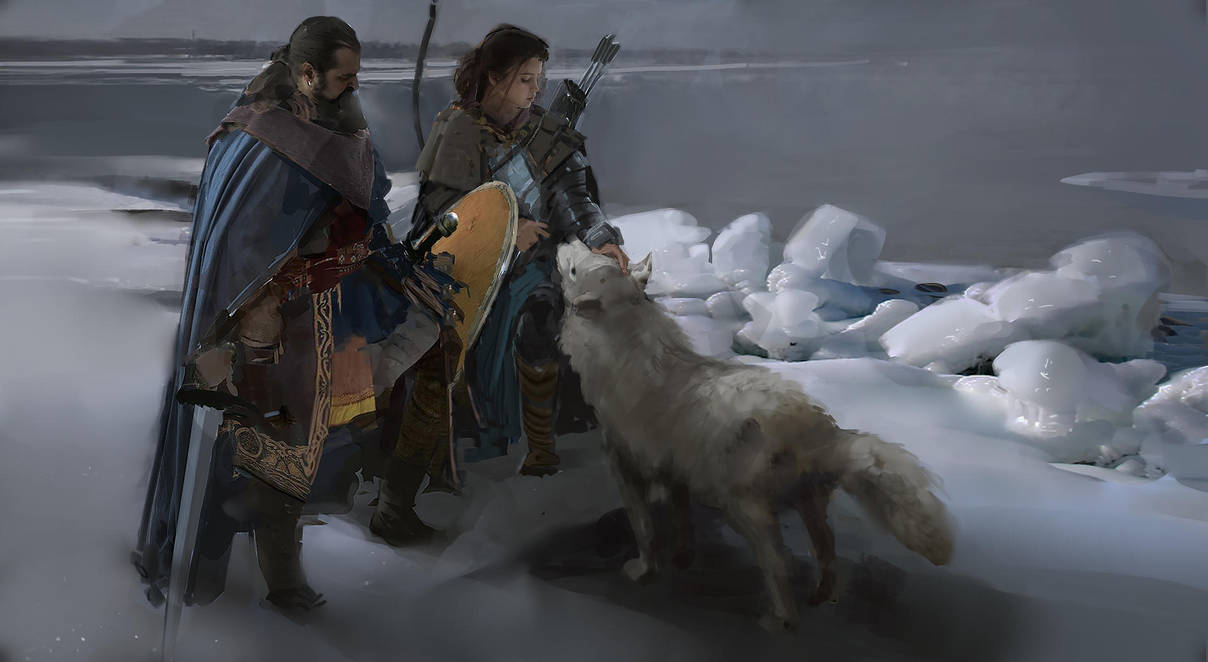 Vikings by RhysGriffiths