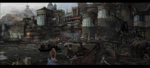 Dragon City by RhysGriffiths