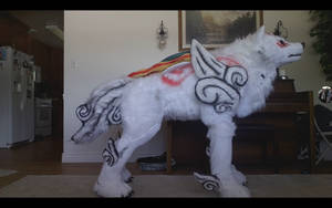 Okami amaterasu quadsuit 2.0  (VIDEO) by okami-wildclaw