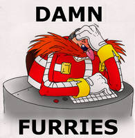 Damn Furries by theflamingalberto