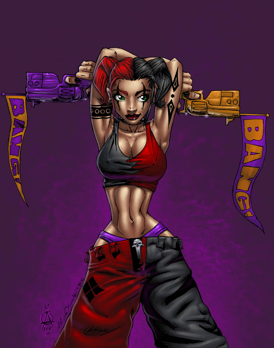Harley Quinn Tauntingwabbit On Deviantart