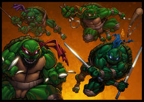 TMNT - Ready for Action by ConfuciusRetaliation