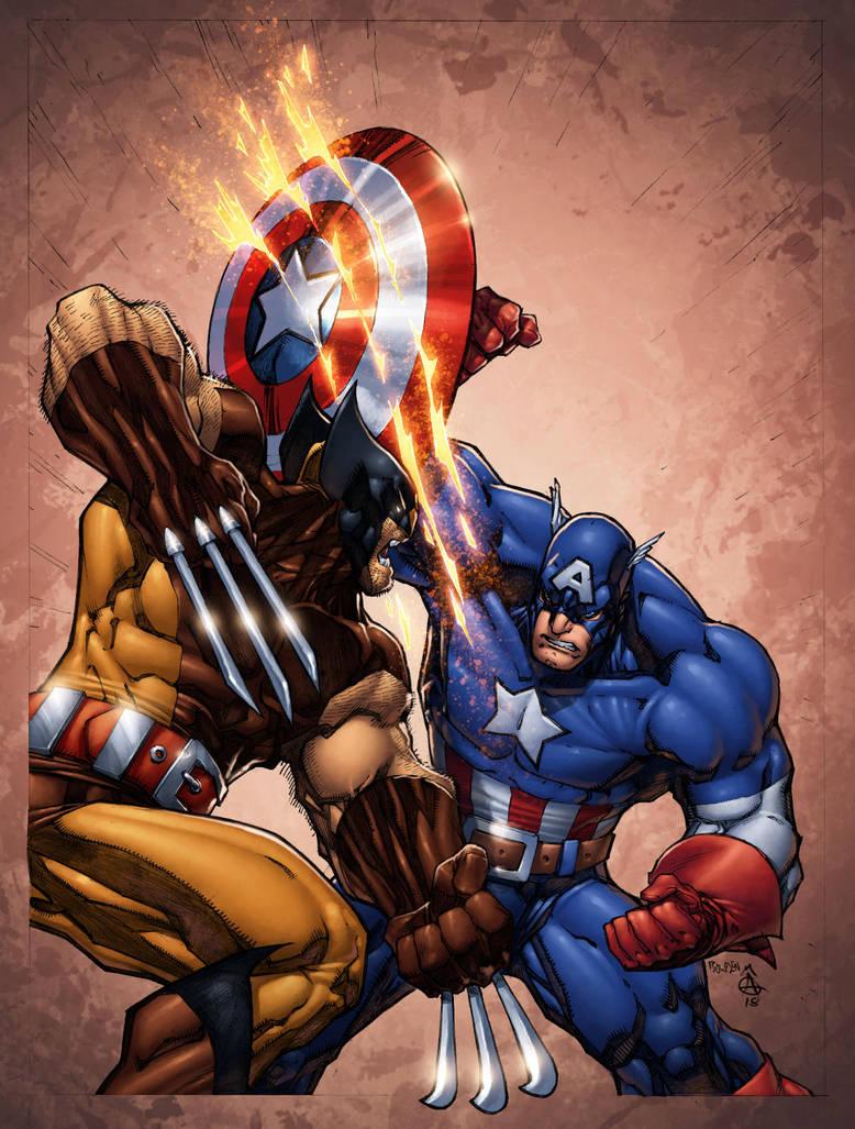 Captain America Annual recreation by ConfuciusRetaliation