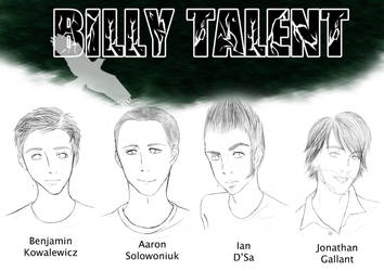 Billy Talent by Alexis-Croft111