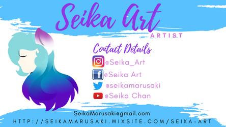 Seika Art (DeviantArt ID) by Seika-Art