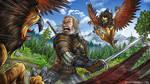 Witcher: Wild Hunt fan art by Otisso