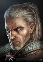 Geralt by Otisso