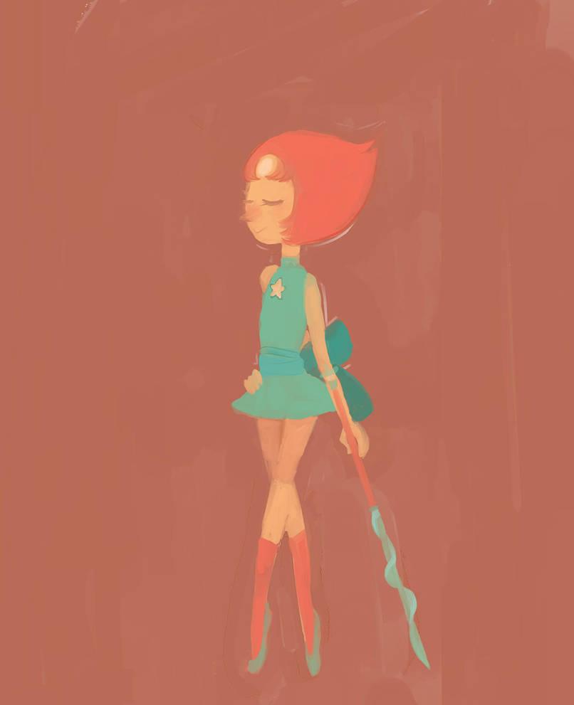Paleta #3 Pedido de <3 Me divertí dibujándola porque amo a Pearl de ultimo hago el primer pedido JÁ los sigo mañana ..